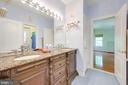 Full Bath with Dual Entry - 12100 WALNUT BRANCH RD, RESTON
