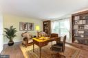Library with built-in bookshelves - 4201 KIMBRELEE CT, ALEXANDRIA