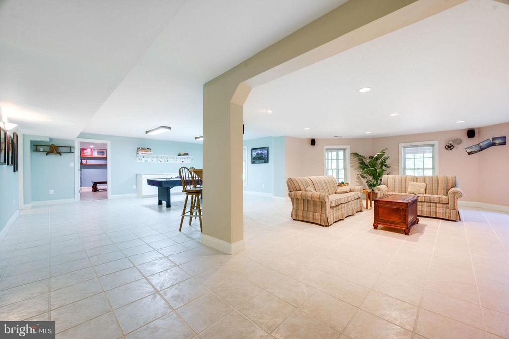 Recreation Room / Family Room - 12100 WALNUT BRANCH RD, RESTON