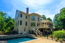 Rear Exterior w/In Ground Pool - 12100 WALNUT BRANCH RD, RESTON