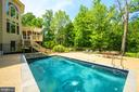 Rear Exterior / Pool - 12100 WALNUT BRANCH RD, RESTON