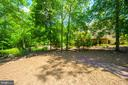 Rear Exterior / Yard - 12100 WALNUT BRANCH RD, RESTON