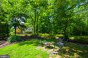 Rear Yard - 12100 WALNUT BRANCH RD, RESTON