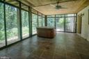 Lower level multi season rm hot tub as is - 329 BRAEHEAD DR, FREDERICKSBURG