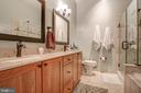 Beautifully updated master bath - 6922 LITTLE FALLS RD #6922, ARLINGTON