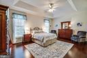 Master Bedroom with trey ceiling - 6917 CLOUDY WAY, SPOTSYLVANIA