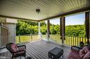 Composite  deck - 6917 CLOUDY WAY, SPOTSYLVANIA