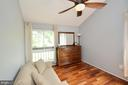 2nd Bedroom with Hardwood Floors - 11214 BEAVER TRAIL CT #12, RESTON