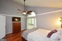 Master Bedroom w/ Hardwood Floors - 11214 BEAVER TRAIL CT #12, RESTON