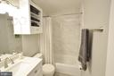 Beautifully Remodeled Secondary Bathroom - 11214 BEAVER TRAIL CT #12, RESTON