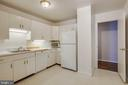 Large Kitchen could be opened to Family Room - 4620 N PARK AVE #1109E, CHEVY CHASE