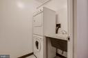 Separate Laundry Room with sink - 4620 N PARK AVE #1109E, CHEVY CHASE