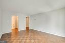 Master Bedroom with Parquet Floor - 4620 N PARK AVE #1109E, CHEVY CHASE