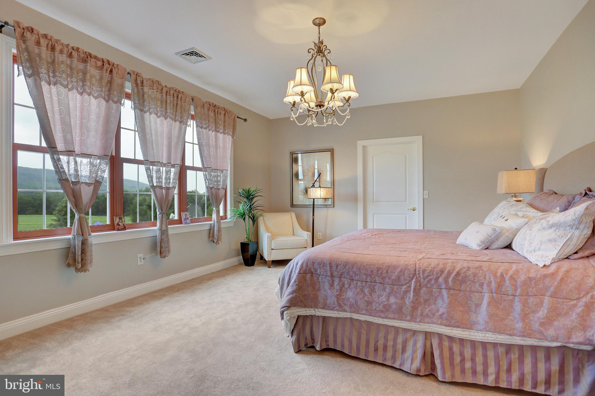 Master Bedroom with spectacular views