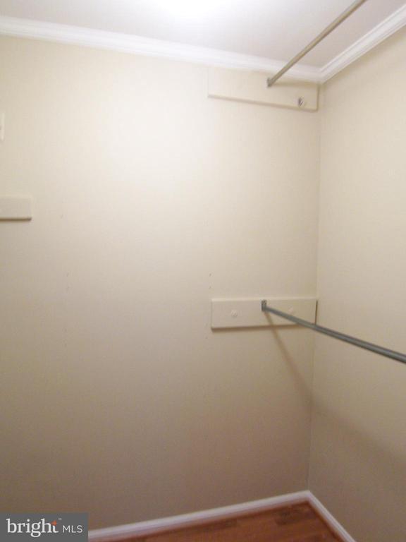 Walk-in closet (Master bedroom) - 8808 SKOKIE LN, VIENNA