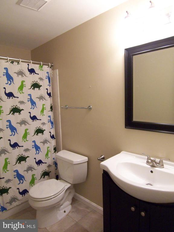 Bathroom in Basement - 8808 SKOKIE LN, VIENNA