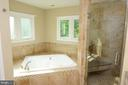 SPA BATHROOM WITH HEATED FLOORS - 46432 MONTGOMERY PL, STERLING