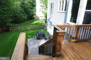 DECK AND PATIO FOR ENTERTAINING - 46432 MONTGOMERY PL, STERLING