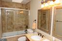 UPSTAIRS BATHROOM - 46432 MONTGOMERY PL, STERLING