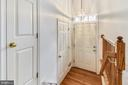 Entry has large walk-in closet and smaller closet - 20529 ASHLEY TER, STERLING