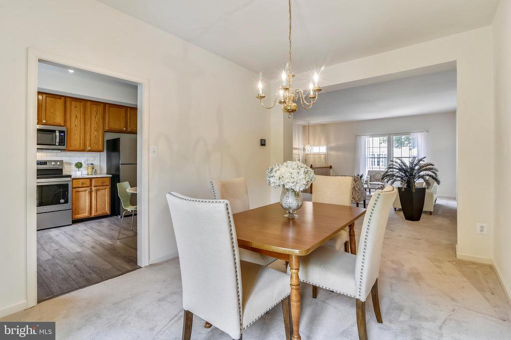 A roomy dining area - 20529 ASHLEY TER, STERLING