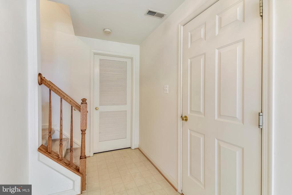 Rec room opens to laundry room and garage - 20529 ASHLEY TER, STERLING