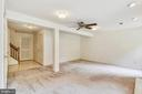 Lower level has spacious ceiling height - 20529 ASHLEY TER, STERLING