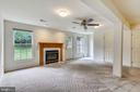 Spacious and sunny walk-out with gas fireplace! - 20529 ASHLEY TER, STERLING