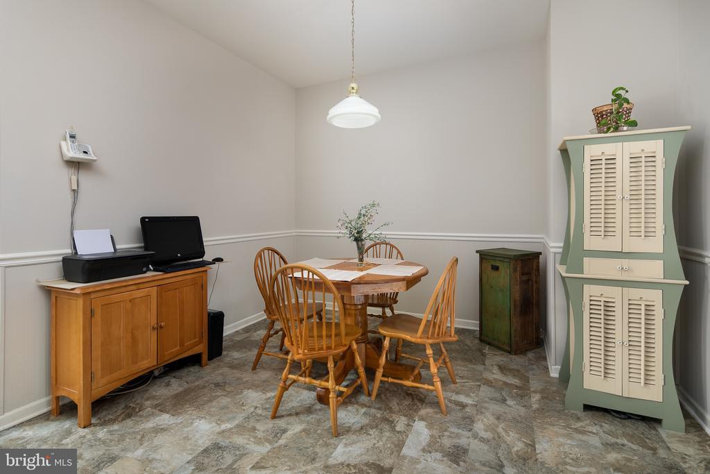 Breakfast area - 43190 CENTER ST, CHANTILLY