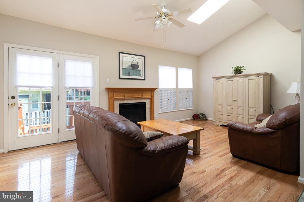 Sun-drenched family room - 43190 CENTER ST, CHANTILLY