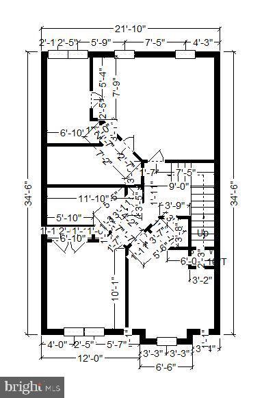 Upper Level Floor Plan - 20529 ASHLEY TER, STERLING