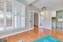 Or it could be an office or art studio. - 5034 GARDNER DR, ALEXANDRIA