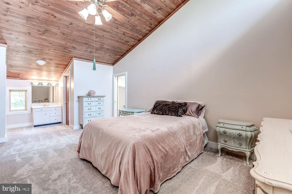 Second master suite on second floor - 23009 COBB HOUSE RD, MIDDLEBURG