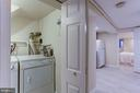 Lower level separate laundry - 534 11TH ST SE, WASHINGTON