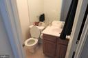 Half bathroom on main level - 305 FALKIRK CT, FREDERICKSBURG
