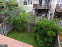 Deck overlooking fenced in yard - 305 FALKIRK CT, FREDERICKSBURG
