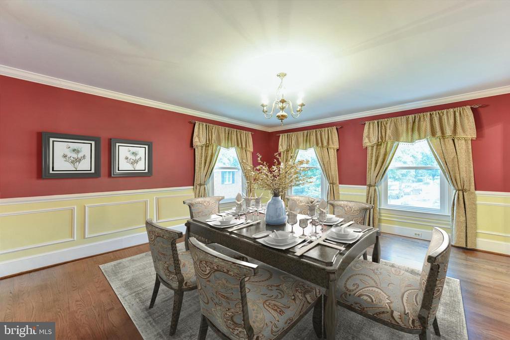 Formal Dining  Room - 4201 KIMBRELEE CT, ALEXANDRIA