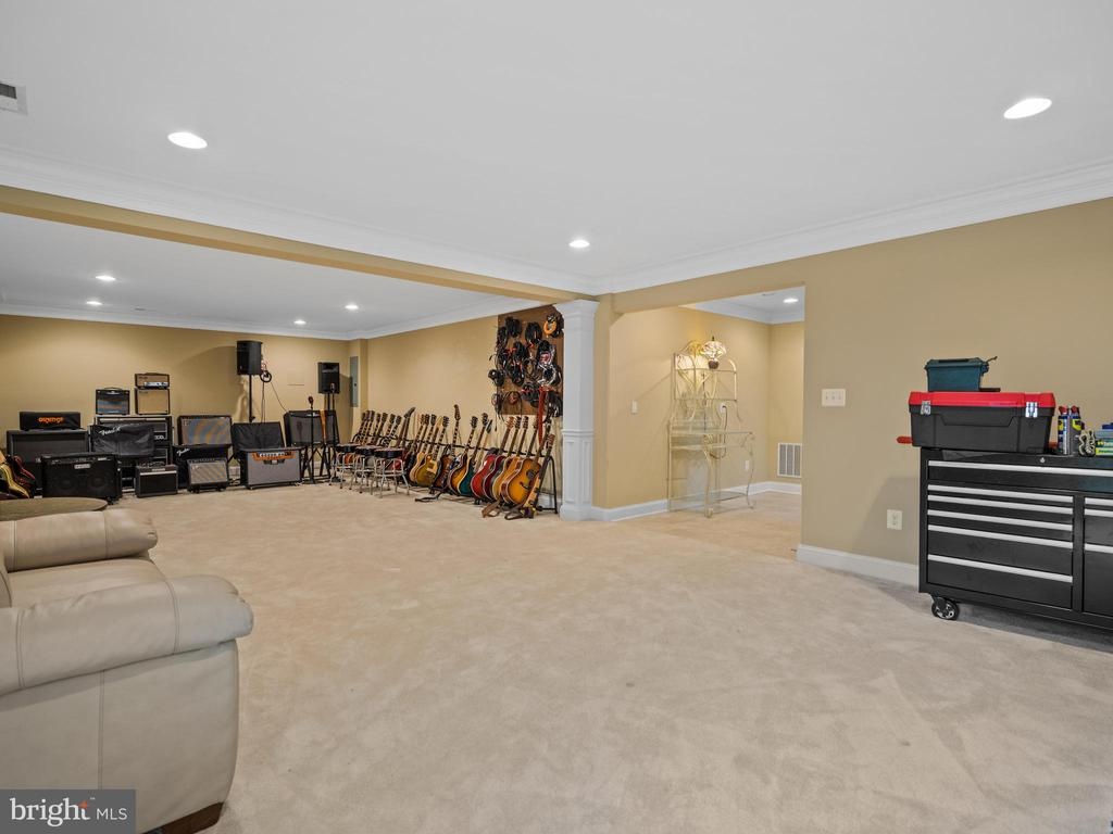 Lower Level Rec Room - 3988 ORANGE ST, TRIANGLE