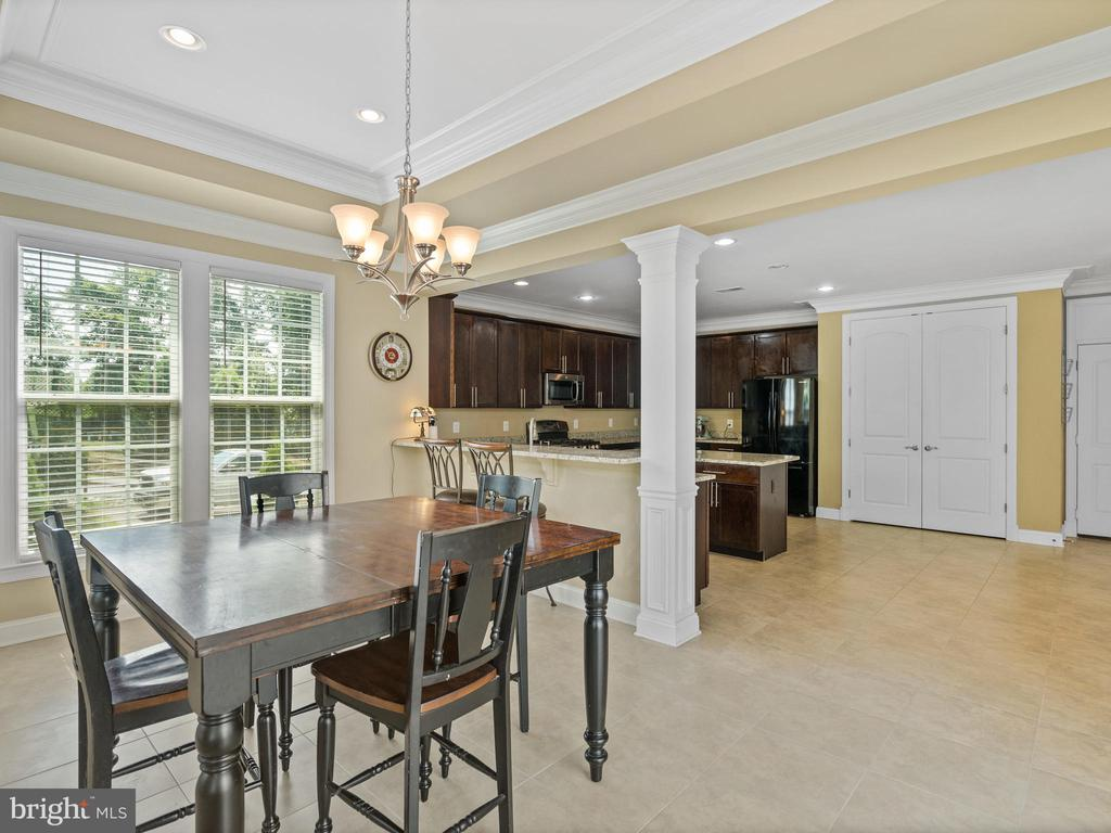 Spacious Dining Room - 3988 ORANGE ST, TRIANGLE