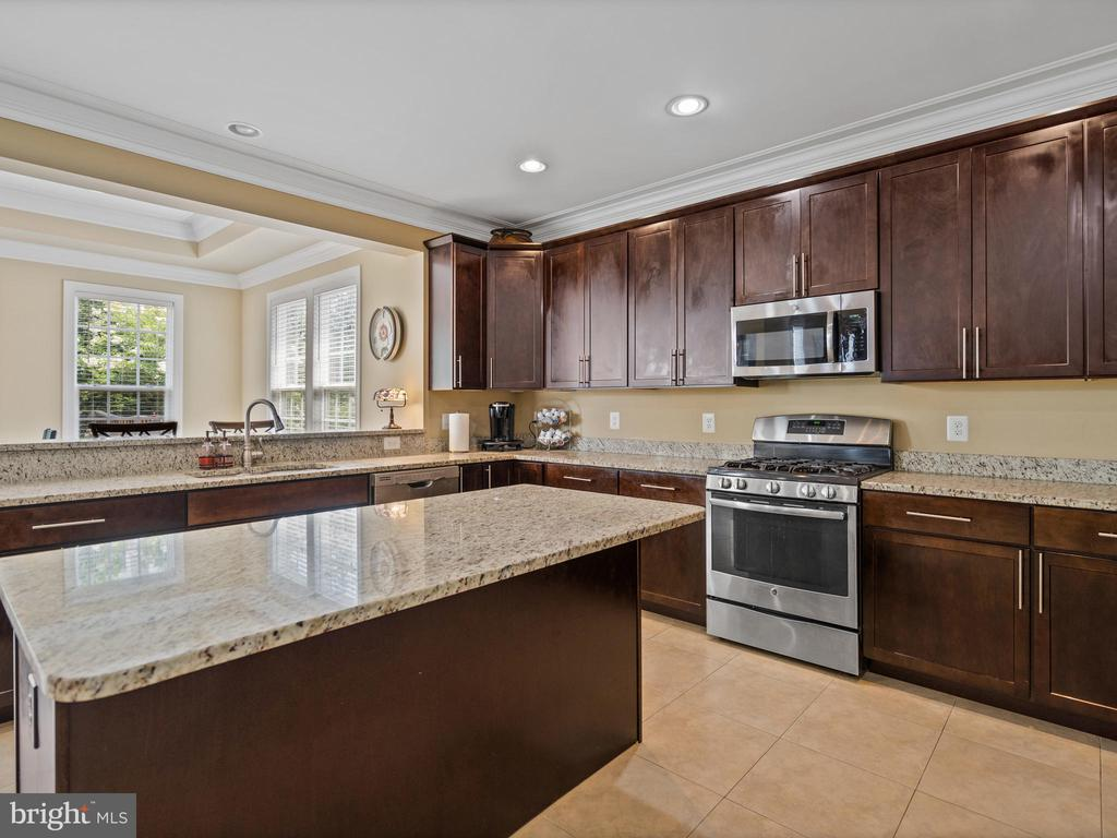 Kitchen with Stainless Steel Appliances - 3988 ORANGE ST, TRIANGLE