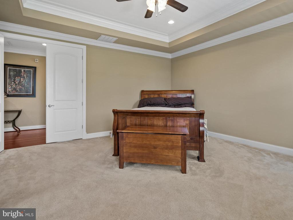 Master Bedroom with Double Door Entry Way - 3988 ORANGE ST, TRIANGLE