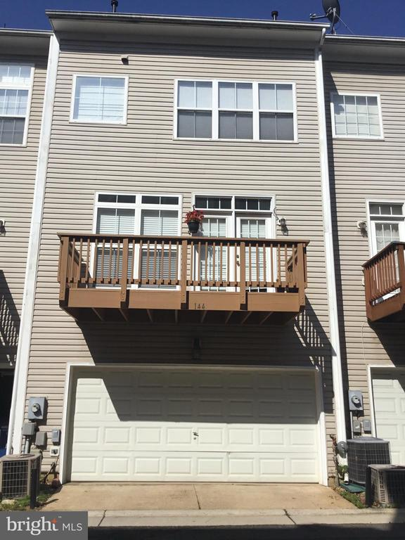 Exterior Rear View; Garage Entry - 144 MARTIN LN, ALEXANDRIA