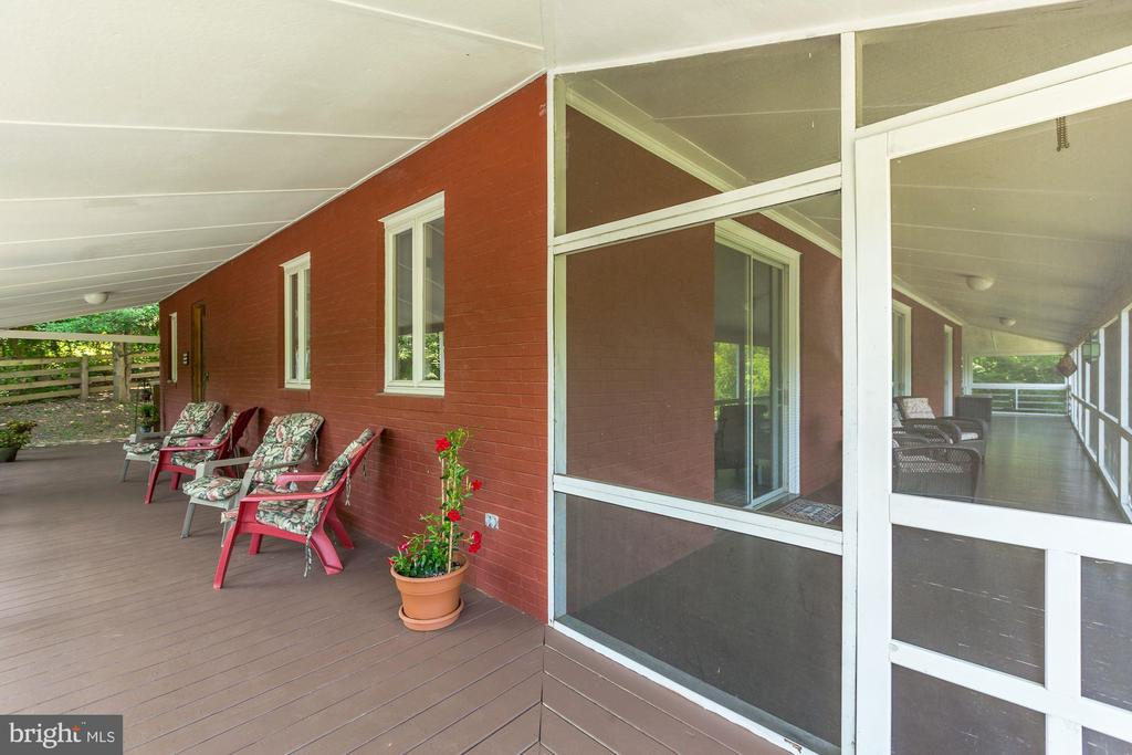 Covered Wrap Around Porch - 17787 DRY MILL RD, LEESBURG