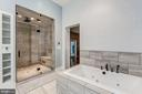 Steam shower and Large Spa Tub - 17787 DRY MILL RD, LEESBURG