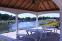 VIEW OF LAKE FROM PICNIC AREA - 22291 PHILANTHROPIC DR, ASHBURN
