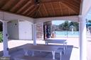 VIEW OF POOL FROM PICNIC AREA - 22291 PHILANTHROPIC DR, ASHBURN