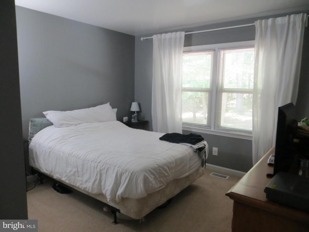 Master Bedroom with view over rear yard - 117 MONROE ST, LOCUST GROVE