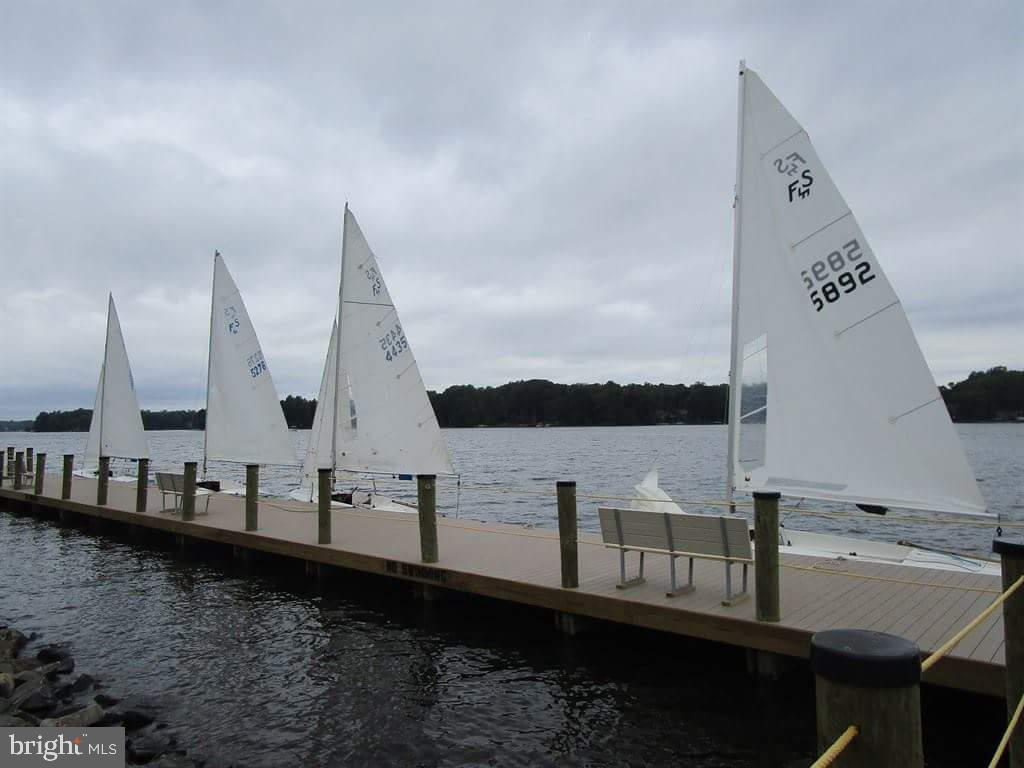 sailboats at the dock - 117 MONROE ST, LOCUST GROVE