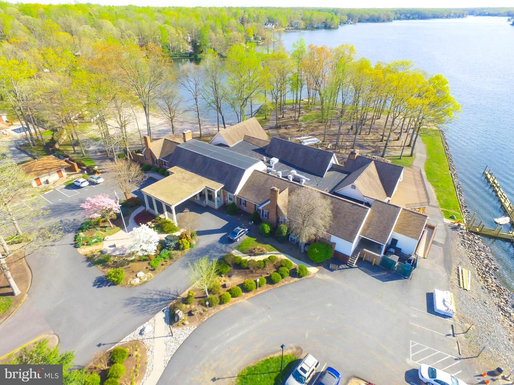 aerial of clubhouse - 117 MONROE ST, LOCUST GROVE