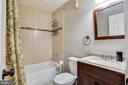 Updated Hall Bathroom - 26 BREEZY HILL DR, STAFFORD